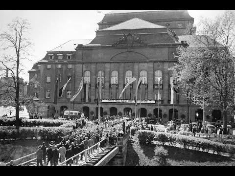Eröffnung des Großen Hauses in Dresden 1948