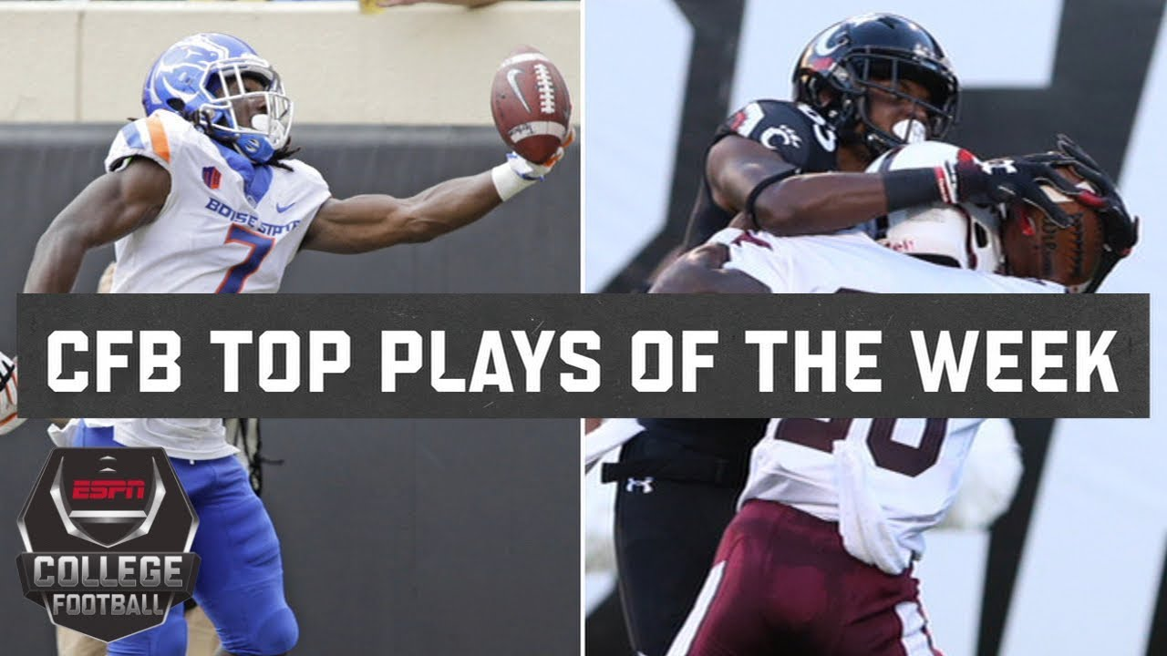 Top 10 Plays Of College Football Week 3 Espn Youtube