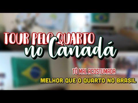 TOUR PELO MEU QUARTO NO CANADÁ  INTERCÂMBIO - VICTORIA BC
