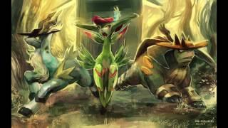 Pokémon Black & White Remix - Legendary Unova Musketeer Trio Battle - by Bliitzit - Extended