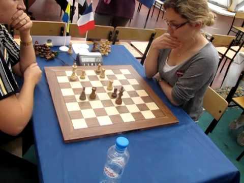 2010-09-15 GM Zhukova - GM  Skripchenko ENDGAME World Woman Chess Blitz EGF 10 01*
