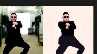 Gangnam Style - Speed Painting / Drawing