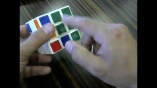 Самый простой способ собрать кубик рубик. 1