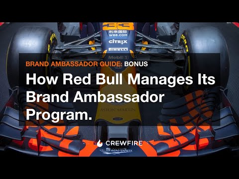 How Red Bull manages its brand ambassador and street team program.