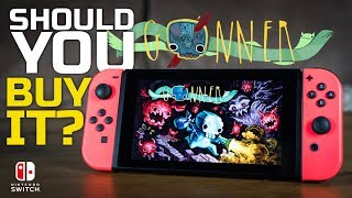 Should You Buy It? GoNNER on Nintendo Switch (TV & Tabletop Mode Gameplay)
