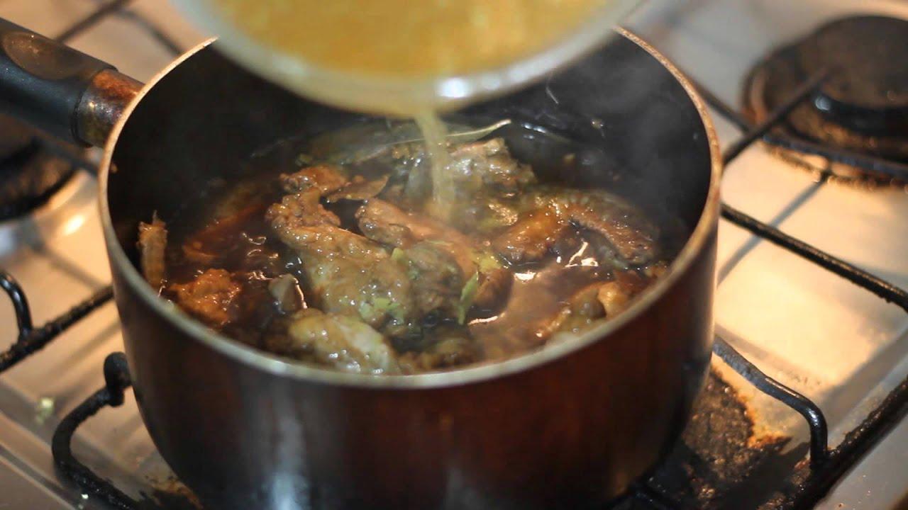how to cook adobong manok sa gata