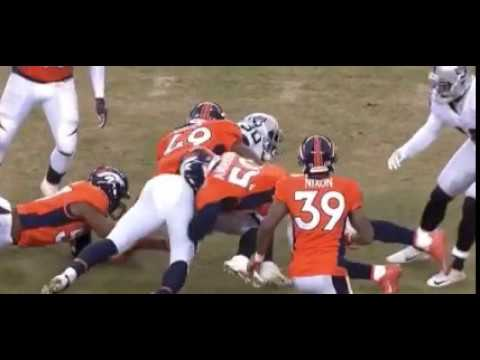 Horrific injury: Broncos LB Zaire Anderson carted off after scary injury in Raiders game