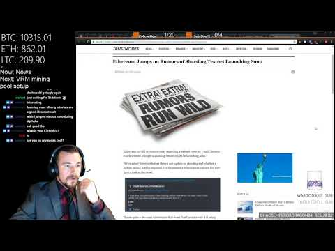 Cryptocurrency News & Research 2018-02-23 - VRM n3rd3d mining pool setup, HST