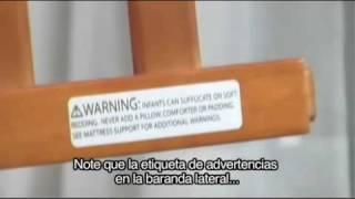 (spanish) Delta Heartland Crib Assembly Instructions