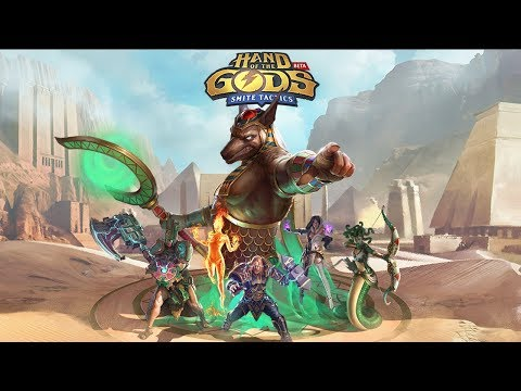 Hand of the Gods: SMITE Tactics - Available Now on Steam!