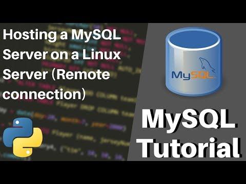 How to Host a MySQL Server on Linux