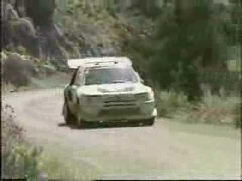 Ari Vatanen Peugeot 205T16 WRC Group B Supercar