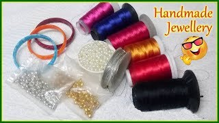 5 BEAUTIFUL JEWELRY CRAFTS YOU CAN DIY | HANDMADE JEWELLERY | JEWELLERY MAKING AT HOME | DIYARTIEPIE