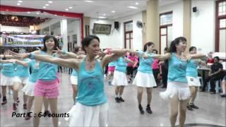 Boom Boom Mama Line dance (20/12/2015)