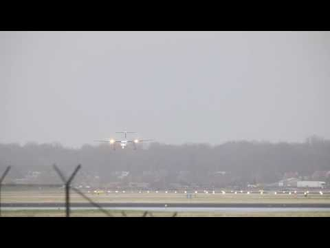 Plane Crash-Lands at Amsterdam's Schiphol Airport 2