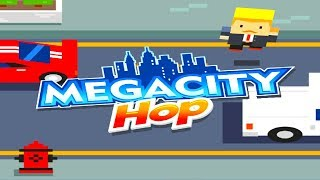 MEGACITY HOP - HIGH SCORE - EPIC GAMEPLAY - NEW CROSSY ROAD (HD)