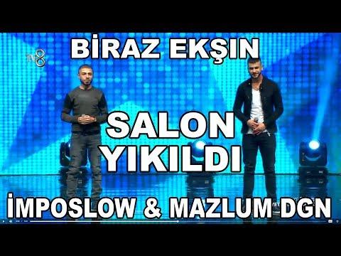 Biraz Ekşın - Yetenek Sizsiniz Türkiye [ ImPos Low & MazLum Dğn ] Sahne Yıkıldı.!