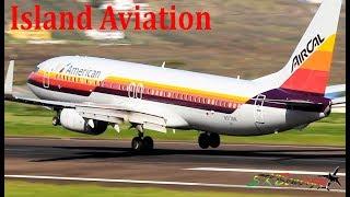 Island Aviation !!! American 738, G450, Beech 1900, Caravan.....@ St. Kitts Airport
