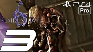Resident Evil 6 (PS4) - Gameplay Walkthrough Part 3 - Ubistvo Boss Fight (Ada) [1080P 60FPS]