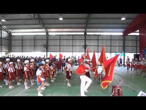 Trường Tiểu học Phú Cần A - Thi Nghi Thức Đội Cấp Tỉnh Part 1