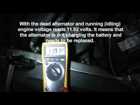 Diagnosing Bad Alternator - Charging Voltage