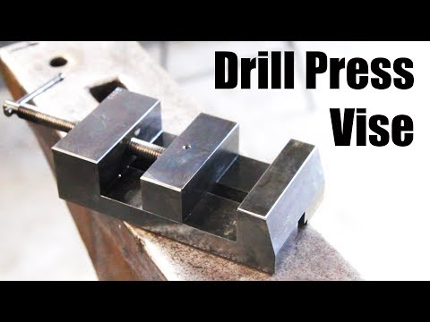 Making a Drill Press Vise - Machining