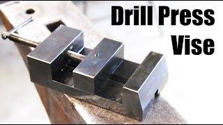 Making a Drill Press Vise - Machining