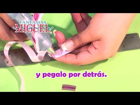 Como hacer una diadema morada youtube - Como hacer diademas ...