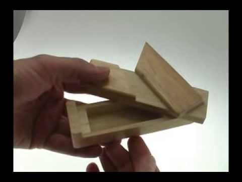 Solution For Secret Opening Box From Puzzle Master Wood Puzzles