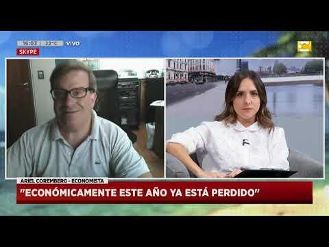 Coronavirus en Argentina: economía en riesgo, el economista Ariel Coremberg en Hoy Nos Toca Verano