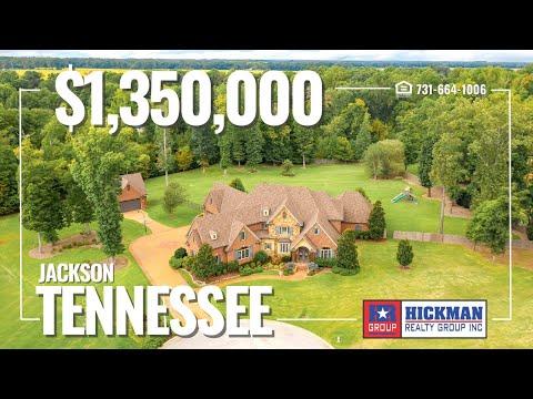 Luxury Living in Tennessee!   3 San Arbor Cove, Jackson TN