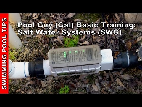 Pool Guy (Gal) Basic  Training Part 3  Salt Water Systems (SWG)  Overview