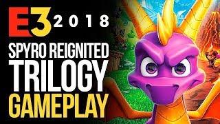Spyro Reignited Trilogy - Gameplay con encanto y nostalgia