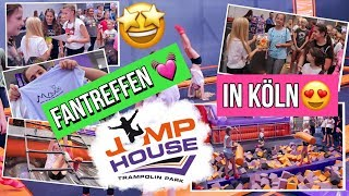 JUMP HOUSE FOLLOW ME AROUND💥Trampolinhalle FANTREFFEN 2018 MaVie Family