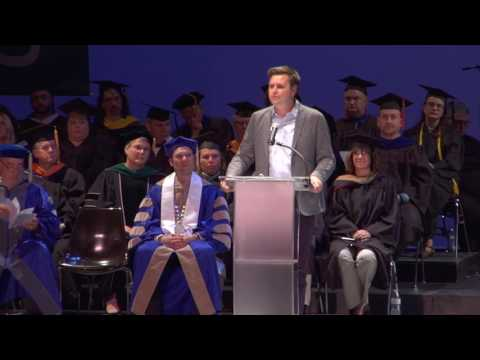 J.D. Vance Gives 2017 Commencement Address at Zane State Colleges