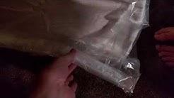 How to Vacuum Package a Memory Foam Mattress - DIY
