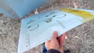 Чем крыть крыши ульев? Листовой алюминий для крыши ульев.(Листовой алюминий - легкий, очень удобный и легкообрабатываемый материал для покрытия крыш ульев. Лист..., 2016-02-02T10:11:25.000Z)