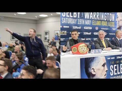 LEE SELBY GETS ABUSE AS HE ENTERS PRESS CONFERENCE - BUT THEN HAS SOME SAVAGE RESPONSES TO CROWD