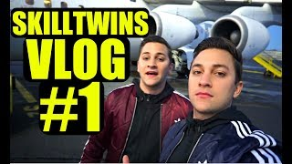 SkillTwins VLOG #1: Call Of Duty Event + Crazy Football Freestyle/Panna Skills!