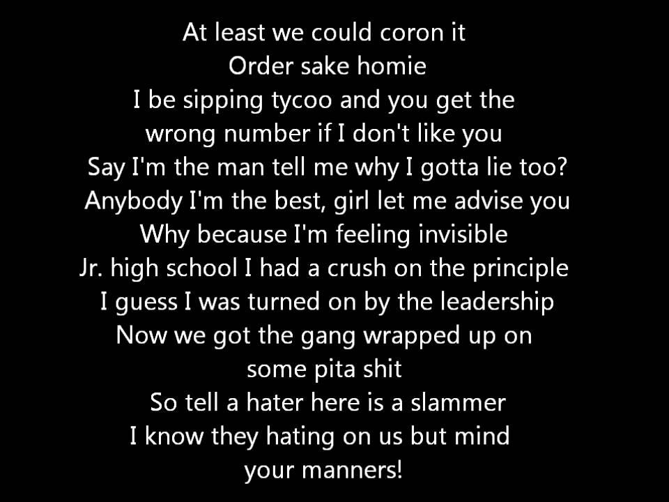 Lyric day n night lyrics : Chiddy Bang -