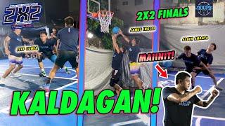 SOBRANG TINDI NG DEPENSAHAN AT KALDAGAN SA 2V2 BASKETBALL FINALS (ANDAYA VS COMIA)