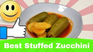 Zucchini (food) Recipe (كوسا محشي أكل عربي) Arabic Food Recipes In English