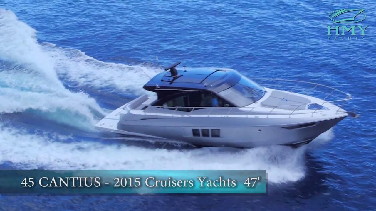 Walkthrough Of The Cruisers 45 Cantius Black Diamond   HMY