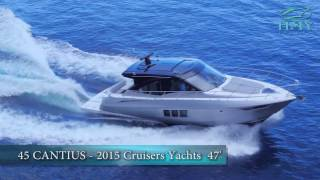New Cruisers Yachts 45 Black Diamond Cantius For Sale - Video Walkthrough