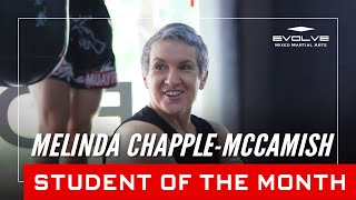 Evolve MMA | Student of the Month: 47-year-old Melinda Chapple-McCamish
