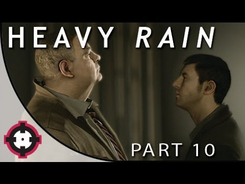 Heavy Rain Blind Let's Play Gameplay PS4  // Part 10 - Investigating A New Suspect!