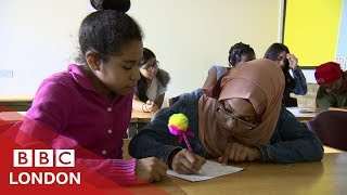London refugees struggling to get an education - BBC London / Видео