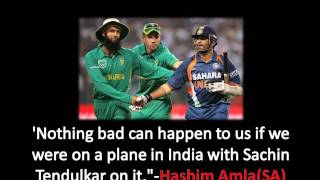 Hasim Amla on Sachin Retirement