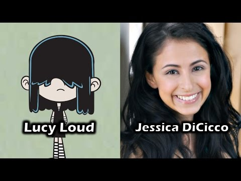 Characters and Voice Actors - The Loud House (Season 1)