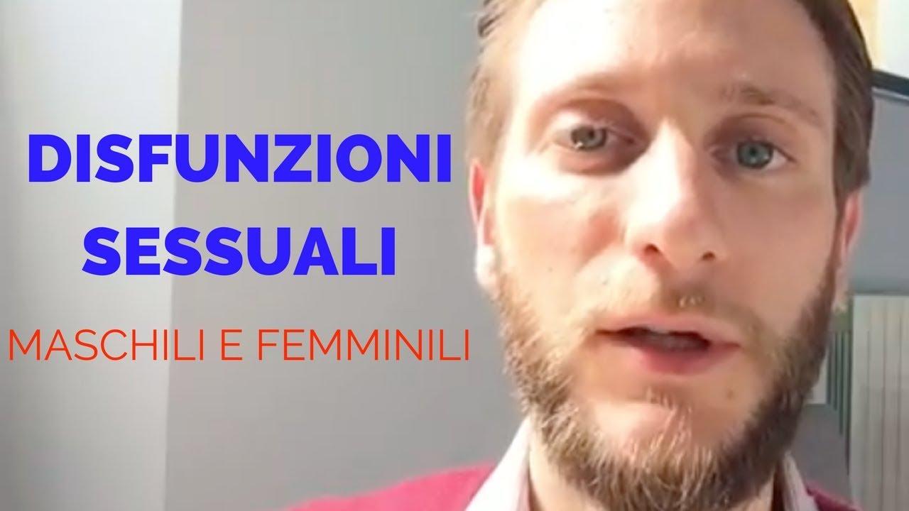 disturbi sessuali femminili disfunzione erettile